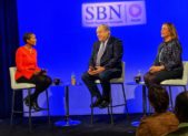 Featured Image - Small Business Network Photo - Nancy Navarro and Marc Elrich on Jan 17 2019