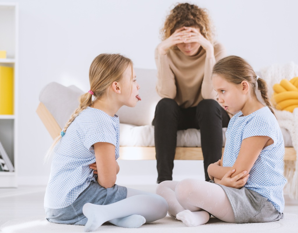 Sibling rivalry featured  sisters-arguing-and-stressed-mom-picture-id947055478 | Montgomery Community  Media