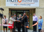 Feature Ribbon Cutting MCM Silver Spring Media Lab