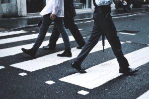 cross walking, crosswalk, walking