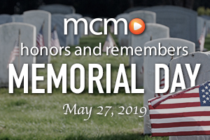 graphic to link to Memorial Day 2019 content