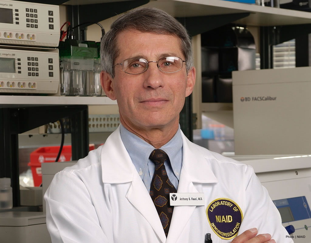 Dr Anthony Fauci, NIH NIAID Director
