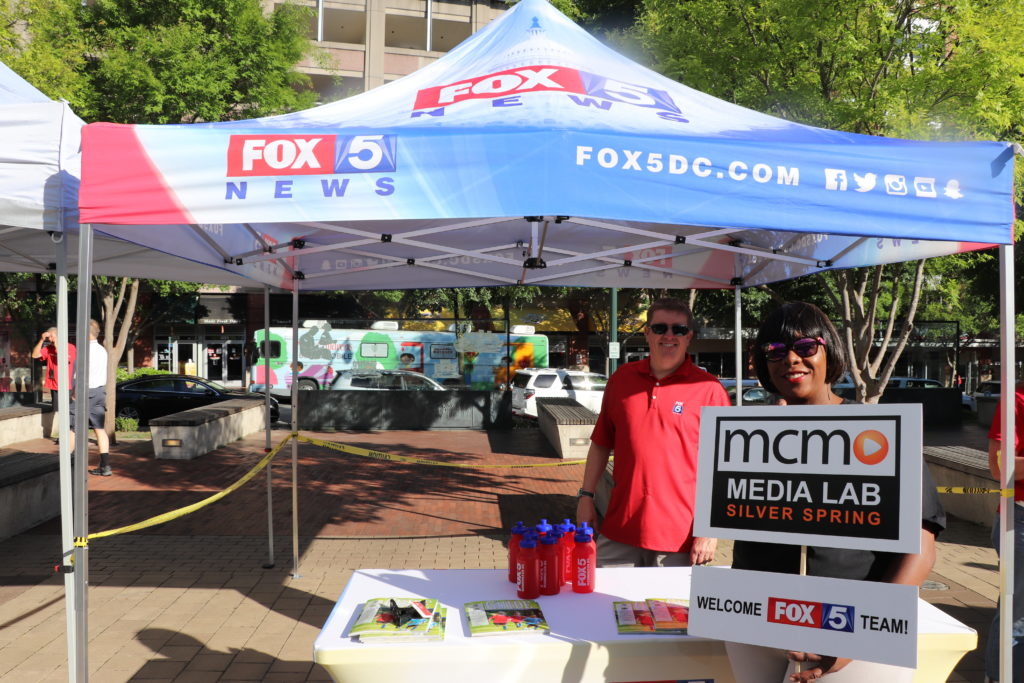 MCM Joins Silver Spring Community for Fox 5 Zip Trip