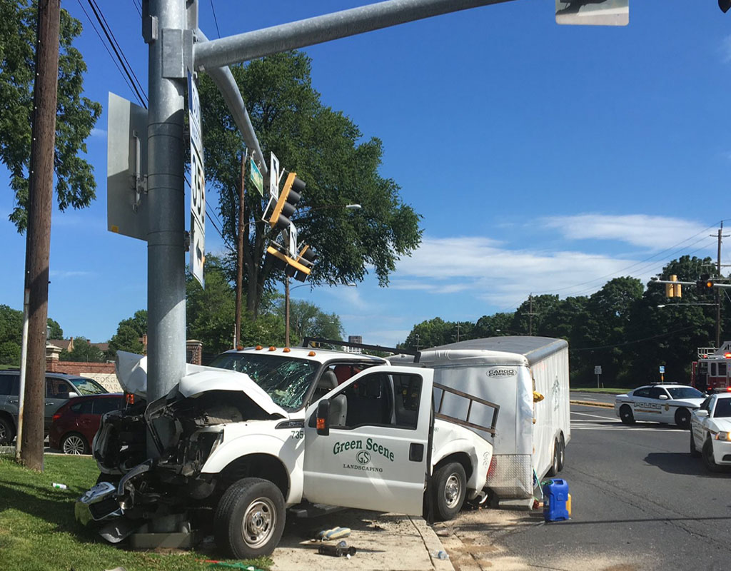 Several Hospitalized From Multi-Vehicle Crash Near Georgetown Prep