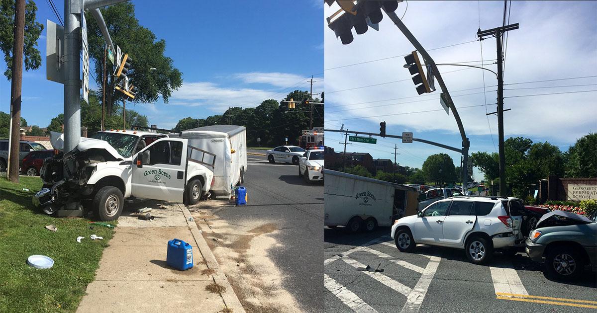 Several Hospitalized From Multi-Vehicle Crash Near