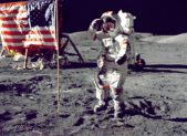feature 1969 man on moon from nasa