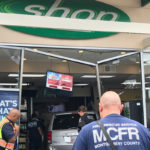 Van Crashes Into Gaithersburg Gas Station