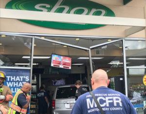 BP Gas Station hit by minivan Archives | Montgomery Community Media