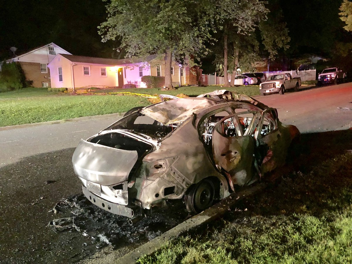 Car Set on Fire in Gaithersburg | Montgomery Community Media