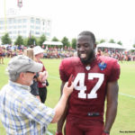 Quince Orchard Alum Ankrah Calls Opportunity to Play for Redskins 'A Blessing'