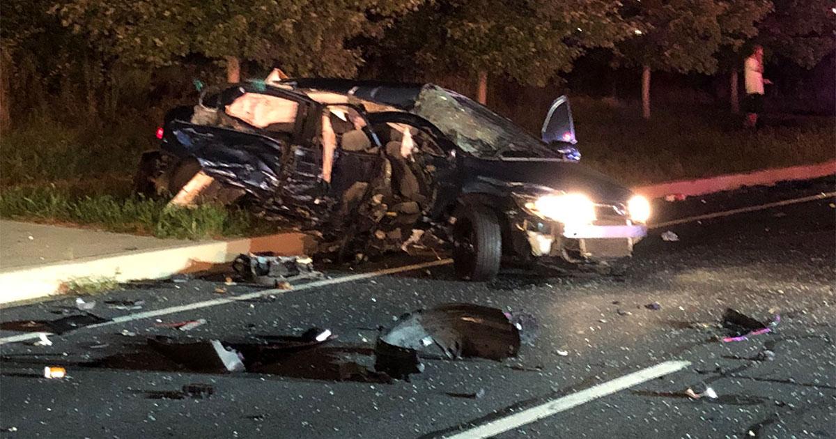 UPDATE: Man Dies in Car Wreck on Georgia Ave at ICC