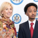 Student Board Member Makes Pointed Comment about Education Secretary DeVos