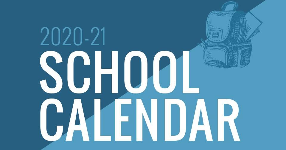 Mon County School Calendar 2021 Background