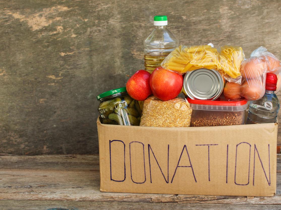 photo of donation box
