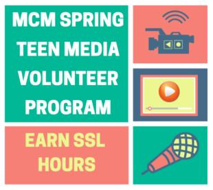 YOUTH MEDIA TEEN VOLUNTEER PROGRAM