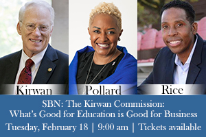 Graphic for February 2020 SBN panel