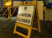 Metro Station Closed