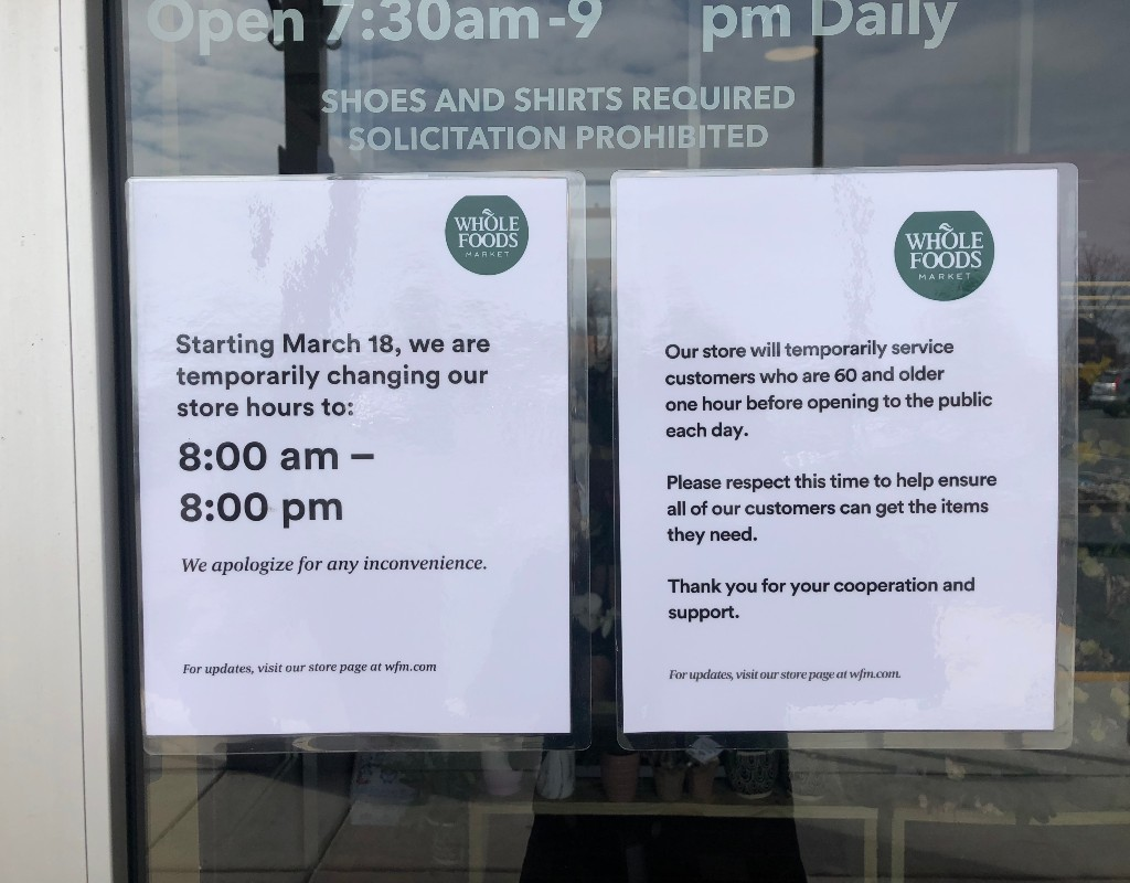Whole Foods Target Offer Exclusive Shopping Time For Vulnerable Residents Montgomery Community Media