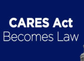 feature CARES Act Becomes Law