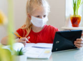 featured image - homework coronavirus online learning home school student virtual learning school