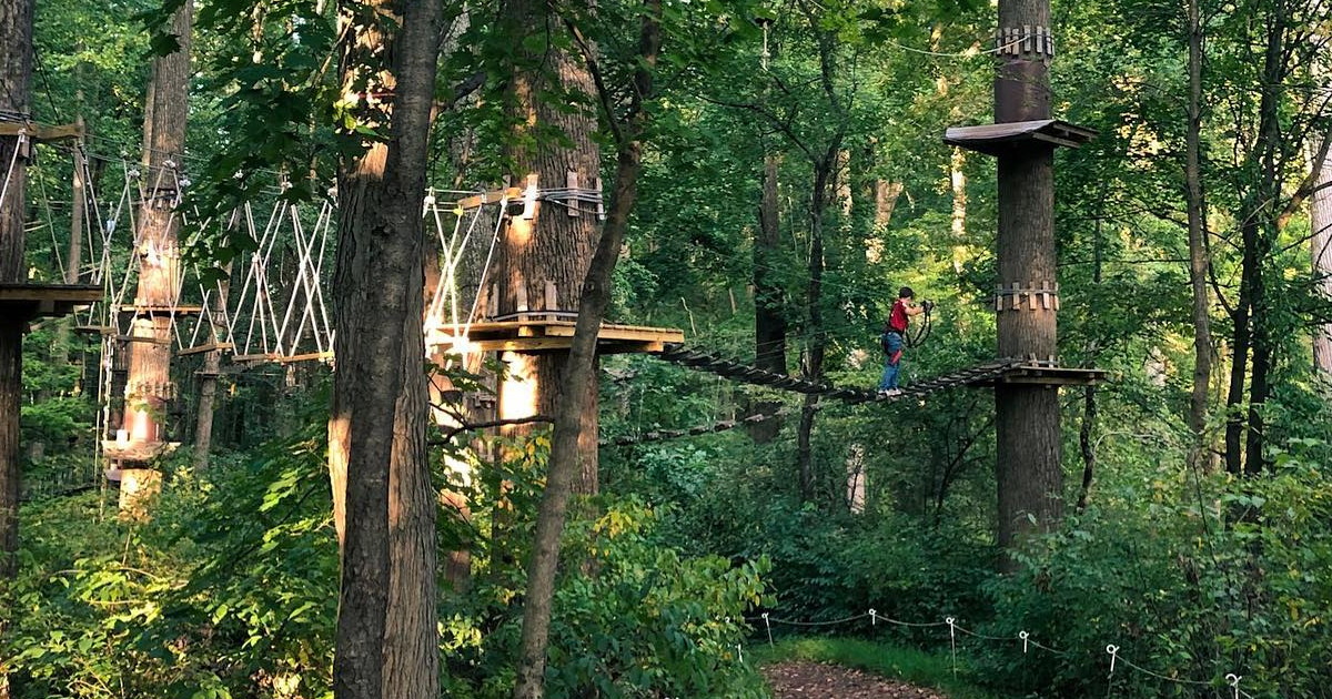 Adventure Park At Sandy Spring To Reopen Saturday Montgomery Community Media