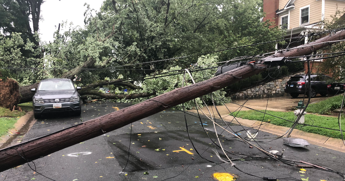 Aftermath of Wednesday Evening Storm: Downed Trees, Power ...