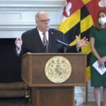 After Vaccination, Gov. Hogan is 'Feeling Fantastic'
