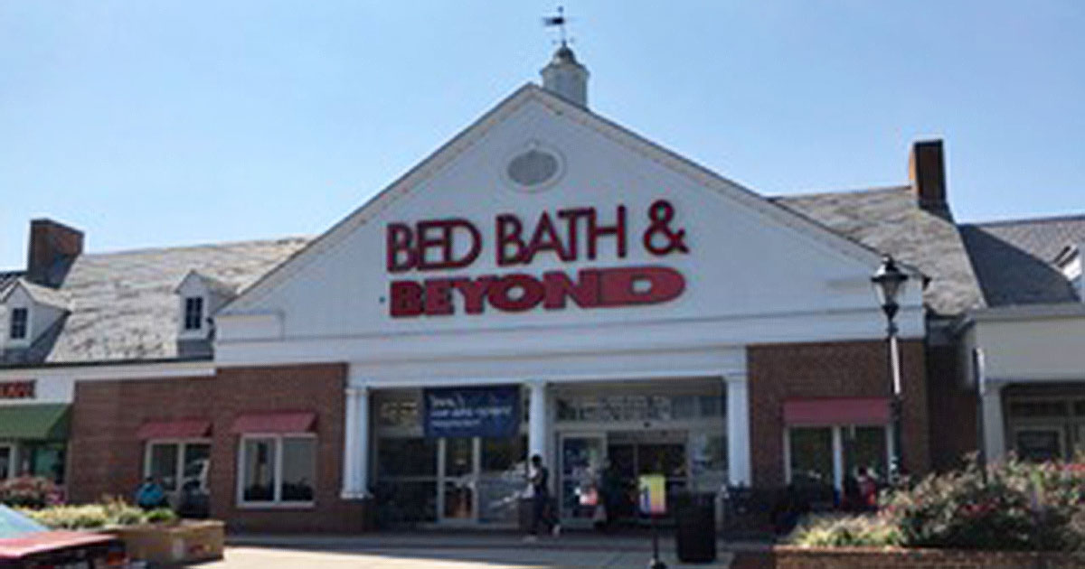 Bed Bath & Beyond in Gaithersburg Set To Close by the End of the Year
