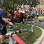 Germantown Townhouse Fire Leaves Two Families Displaced