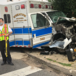 Ambulance, Several Other Vehicles Involved in Collision in Wheaton