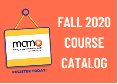 Fall 2020 MCM Course Catalog