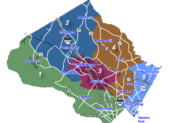 Montgomery County Districts Map. Via Montgomery County.