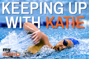 Keeping up with Katie Ledecky graphic