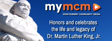 Martin Luther King, Jr. Day graphic linking to 2021 MLK Day content