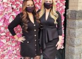 (l:r) Co-Owner's Tracee Wood & Kerri Jurimae celebrate the grand opening of their new business - Amazing Lash Studio in the RIO Gaithersburg. They opened the doors to the spa-like studio on Friday, January 22, 2021. Wood, Jurimae & their team provide eyelash extensions and related services so guests will leave feeling amazing.  (photo credit: Laura Rowles, GGCC Director of Marketing)