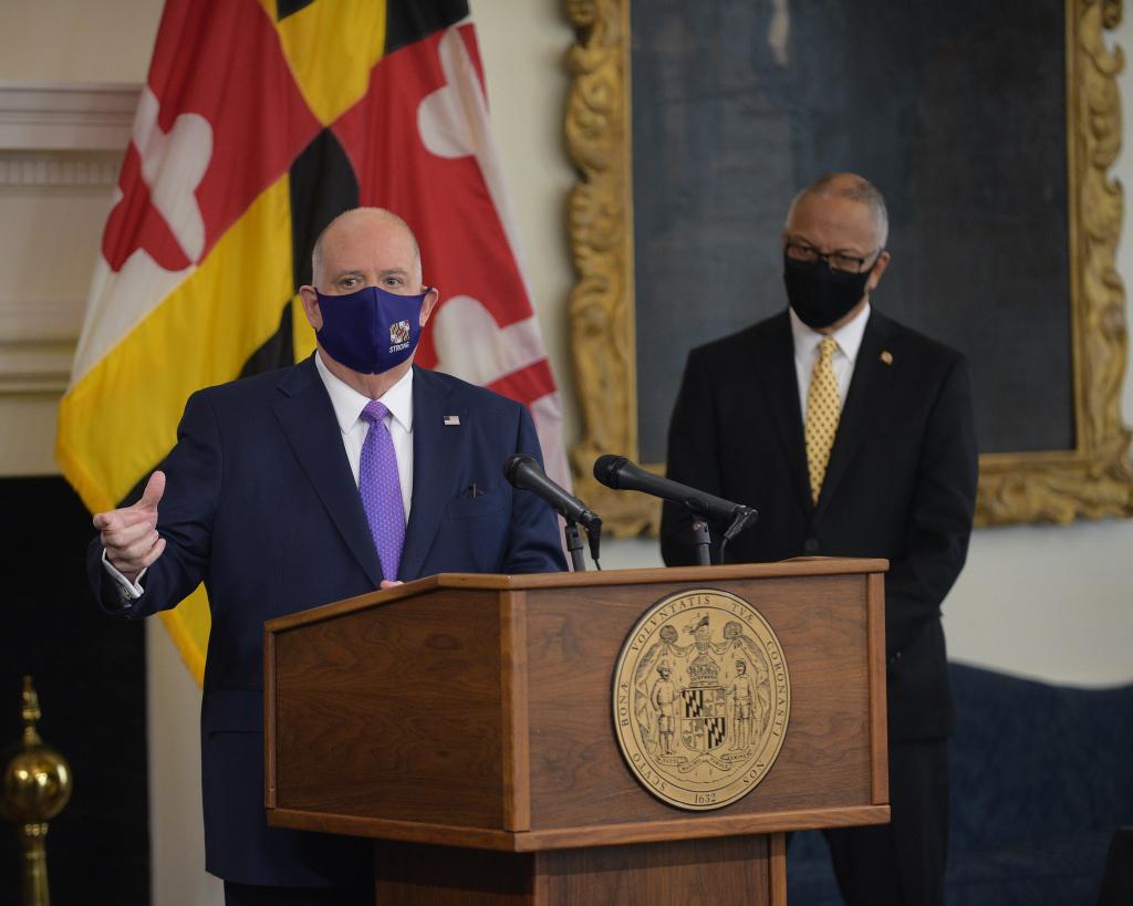Watch Live: Gov. Hogan to Present Economic Recovery Budget Tuesday ...