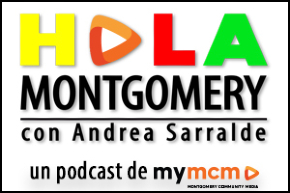 Hola Montgomery podcast graphic