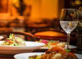 Restaurant table food drink indoor featured