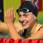 Ledecky Anchors U.S. to Silver Medal in 4x200 Freestyle Relay