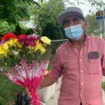 Empresarias Hispanas se unen a Vendedor Ambulante de Flores