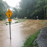 Heavy Rainfall Causes Flooding, Road Closures; Driver Rescued in High Water