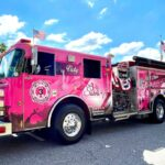 Breast Cancer Awareness Organization Debuts Vicky, the Pink Firetruck